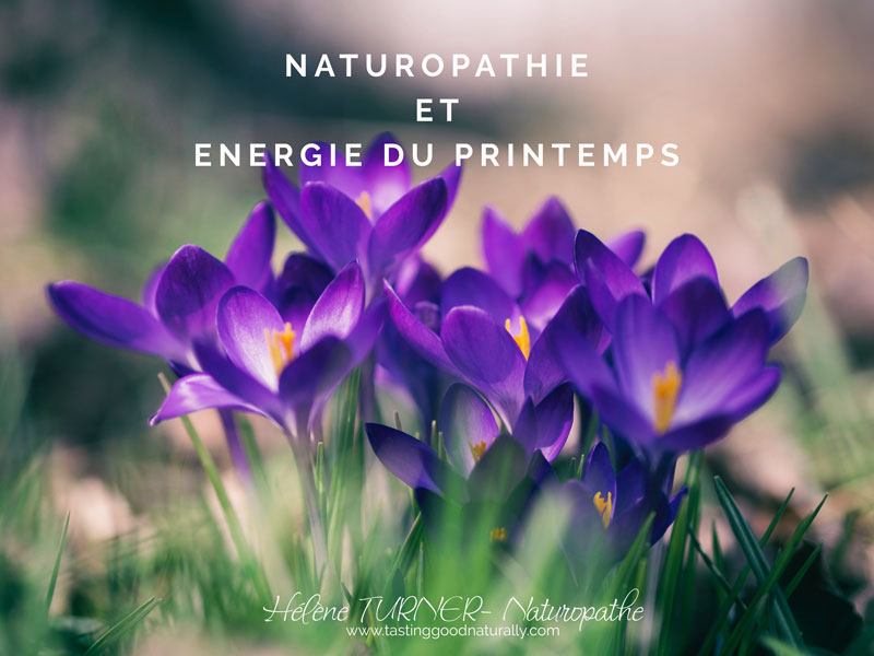 Tasting Good Naturally : Aujourd'hui, j'avais envie de vous parler de Naturopathie et énergie du printemps. Sentez-vous cette nouvelle énergie depuis le début du mois comme quelque chose dans l'air qui est en train de changer ?