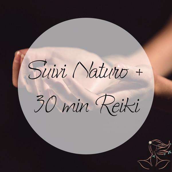 Consultation de Suivi en Naturopathie + Reiki