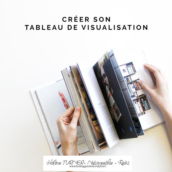 Hélène TURNER - Naturopathie - Reiki : Aujourd'hui, nous allons parler d'un outil de développement personnel que j'utilise en Naturopathie : le tableau de visualisation pour réaliser vos rêves.