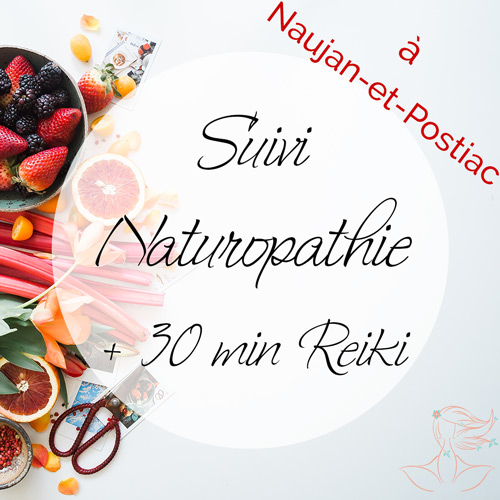 Consultations de Suivi en Naturopathie + Reiki