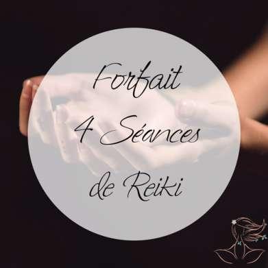 Forfait 4 séances Reiki