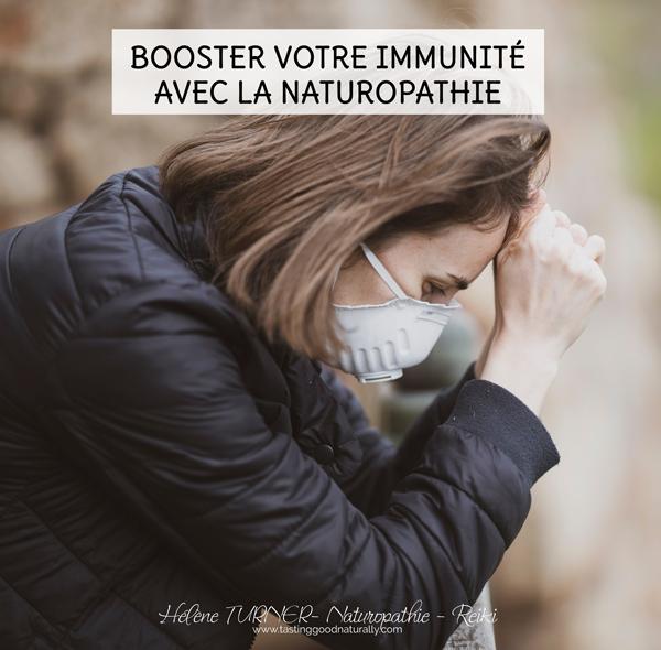 Hélène TURNER - Conseillère Naturopathe et Elixirs Floraux, Praticienne Reiki : Booster votre immunité avec la Naturopathie.