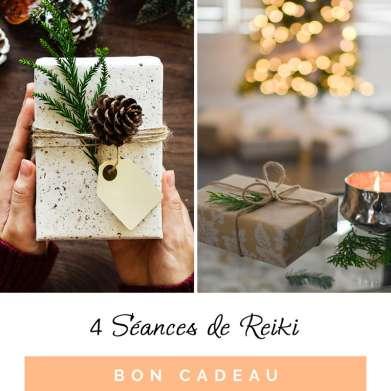 Bon Cadeau 4 Séances de Reiki